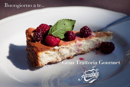 Cercola, Italy: cheesecake