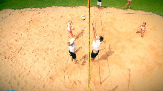 Wildberg, Deutschland: Beachvolleyball spielen in Altensteig
