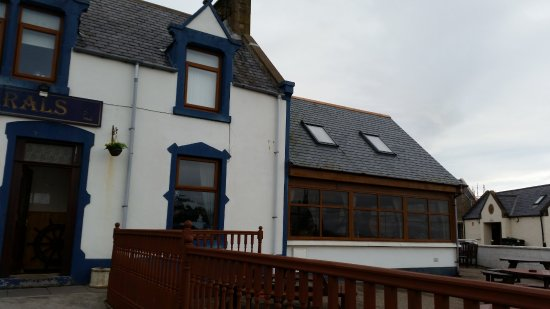 Buckie, UK: front and outside seating