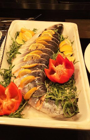 The Fresh Salmon Available On The Dinner Menu Delicious Picture