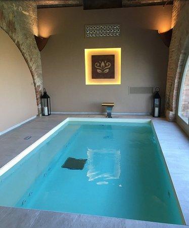Piscina interna foto di villa fontana relais suite spa agliano terme tripadvisor - Piscina interna casa ...