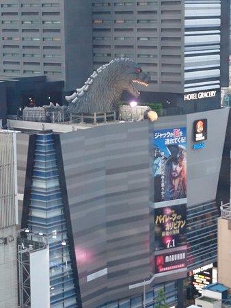 Shinjuku Prince Hotel: the view