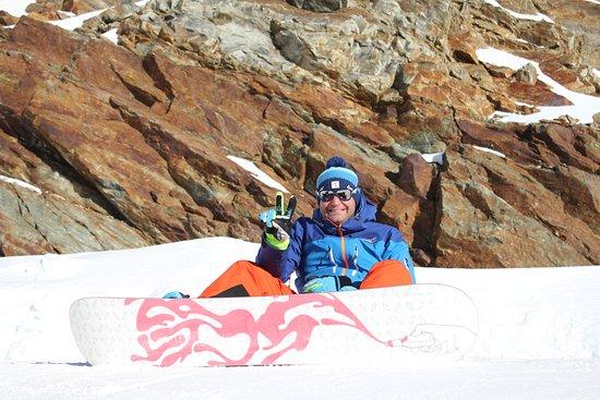 Solden, Østrig: snowboarding is funy