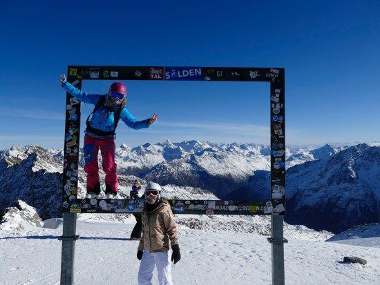 Solden, Østrig: Sölden Glacier