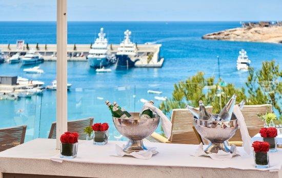 El Toro, Spain: Adriana Restaurant - View from the Terrace