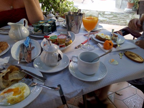 La Bodega del Herrador: breakfast