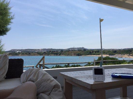 Sunwing Kallithea Beach: Utsikt från terassen