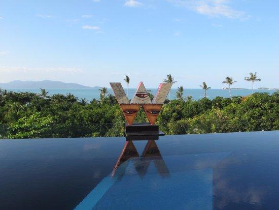 W Retreat Koh Samui: 泳池環境