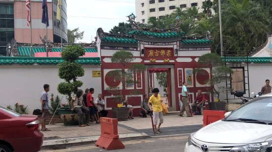 Johor Old Chinese Temple: หน้าศาลเจ้า