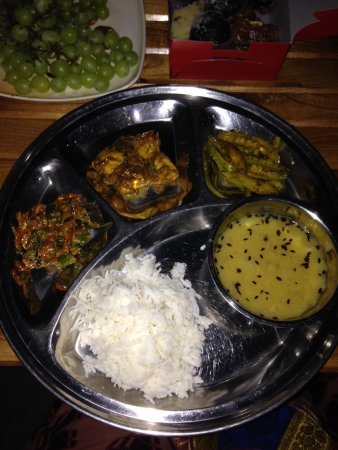 Krishna's House: The complete meal I helped to make