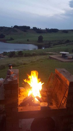KwaZulu-Natal, Afrique du Sud : Braai with a spectacular view