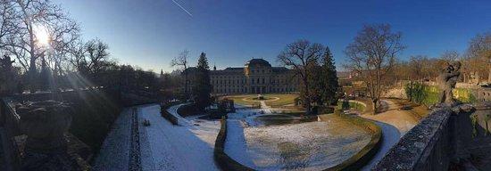 Die Residenz: Hofgarten