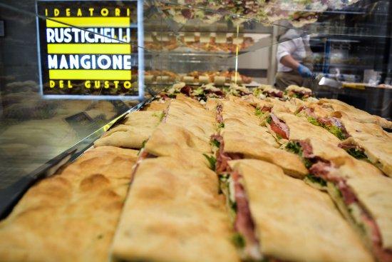 """Tessera, Italy: Un piccolo """"assaggio"""" delle nostre pizze ripiene"""
