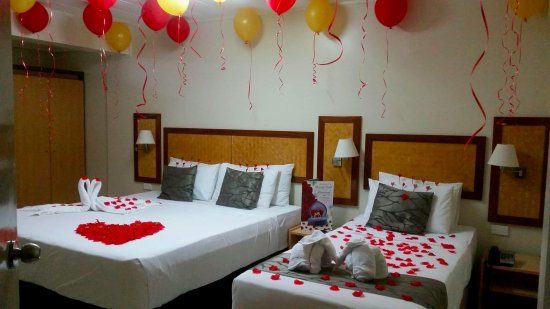 Wedding anniversary decoration picture of victoria palms hotel