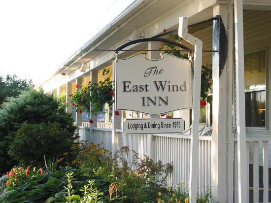 Tenants Harbor, Μέιν: Main entrance to East Wind Inn