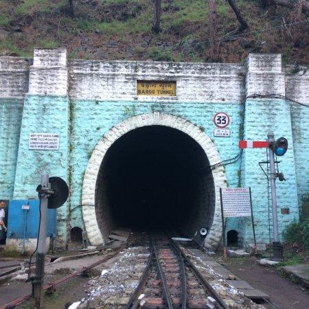 Barog tunnel haunted