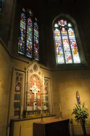 St Peter's Cathedral: 展示の様子