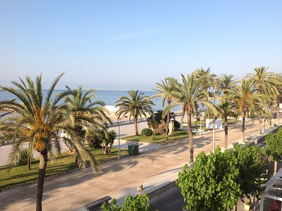 Hotel La Santa Maria: View from balcony