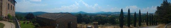 Chiusdino, Italy: panorama