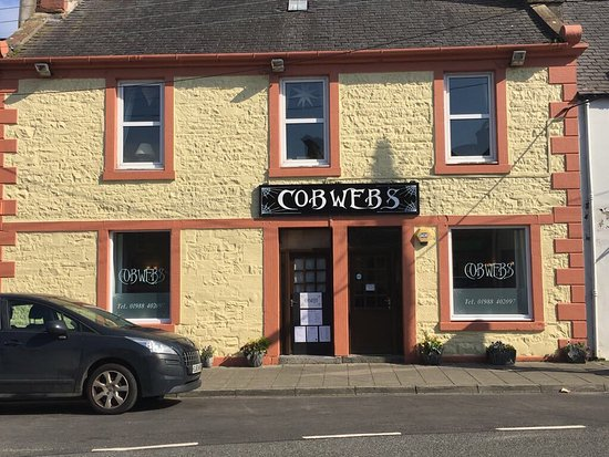 Wigtown, UK: Cobwebs Restaurant