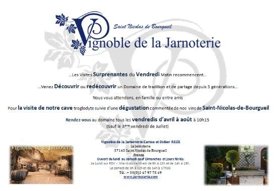 Vignoble de la Jarnoterie: Les Visites Oenotouristiques Surprenantes du Vendredi...