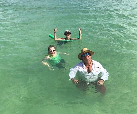 Tavernier, FL: lovin' the sandbar!!
