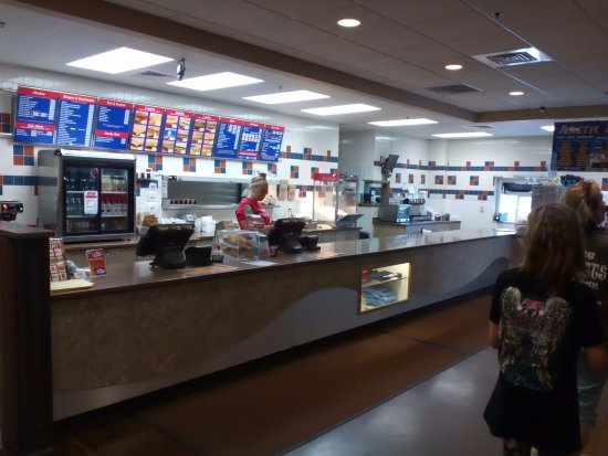 Neenah, WI: Inside of restaurant