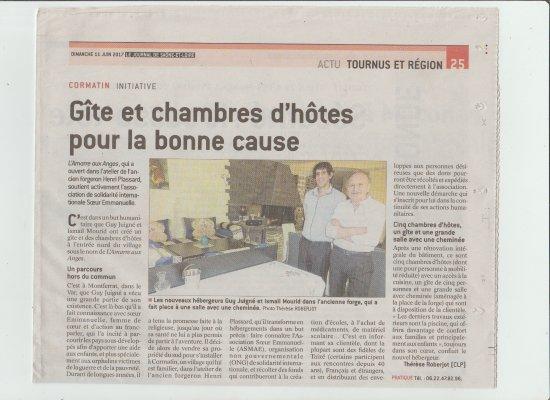 Cormatin, Francia: L'amarre Aux Anges soutient activement  ASMAE (ONG) pour aider les enfants victime de la guerre