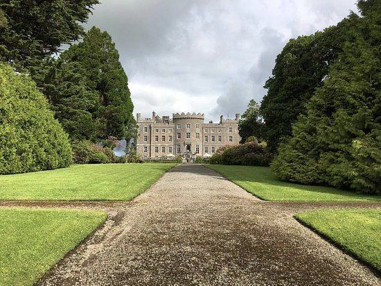 Collooney, Irland: The castle from gardens.