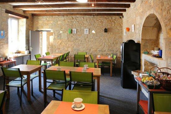 La Garissade: Petit déjeuner