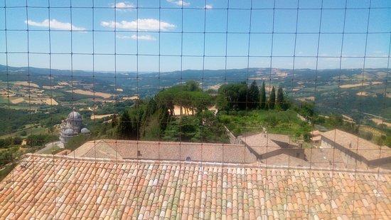 Todi, Italy: vista campanile
