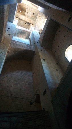 Todi, Italy: scale campanile