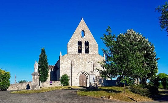 Gers, France : Eglise de Pessoulens