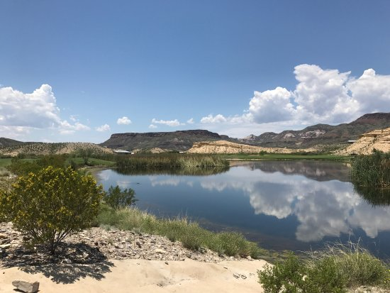 Lajitas, TX: Great rooms, grounds, and course