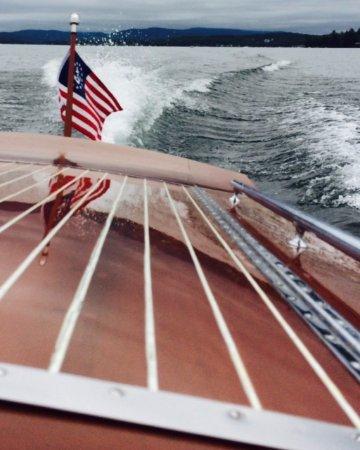 Miss Meredith - Cruising Lake Winnipesaukee