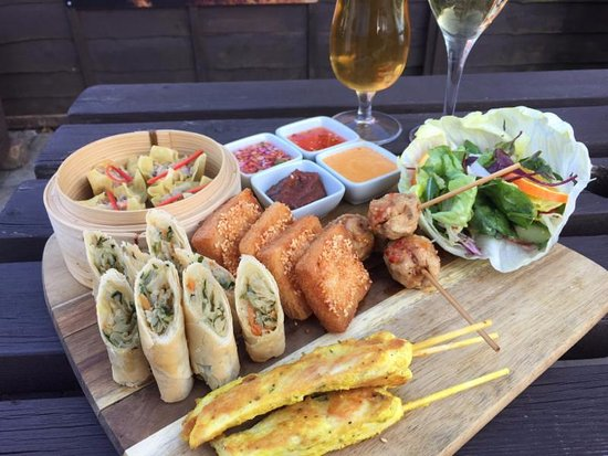 Broseley, UK: Thai sharing platters
