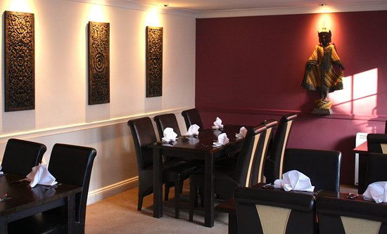 Broseley, UK: relaxing restaurant