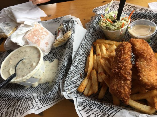 Alaska Fish House: Yummy fish and chips