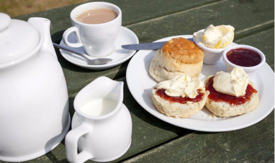 St Levan, UK: Cream Tea