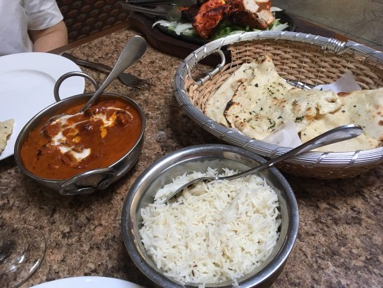 Millbrae, CA: The Tandoori chicken was great