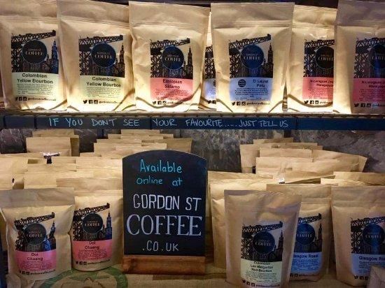 Gordon St Coffee Retail Section Picture Of Gordon Street