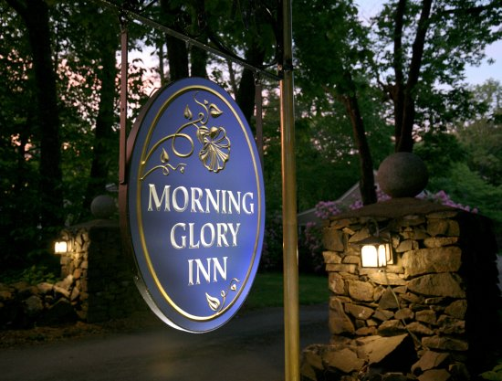 Morning Glory Inn sign, You are Here!