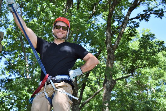 New Florence, MO: Mike at Eco Adventure Ziplines