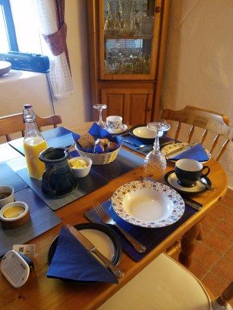 Spiddal, Irland: Breakfast