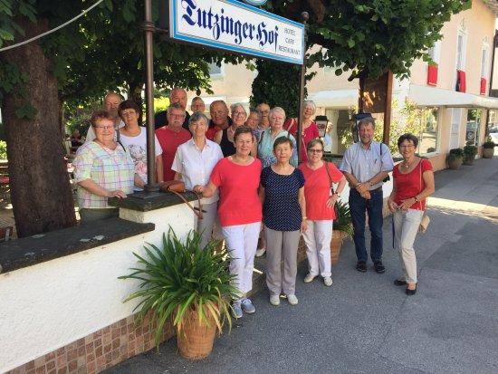 Tutzing, Allemagne : Zufriedene Gäste !  Schade, dass Ihr schon wieder weiter müsst !  Es war eine schöne Zeit mit Eu