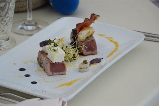 Барбан, Хорватия: tuna steak