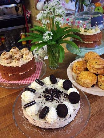 Swinford, Ireland: cakes