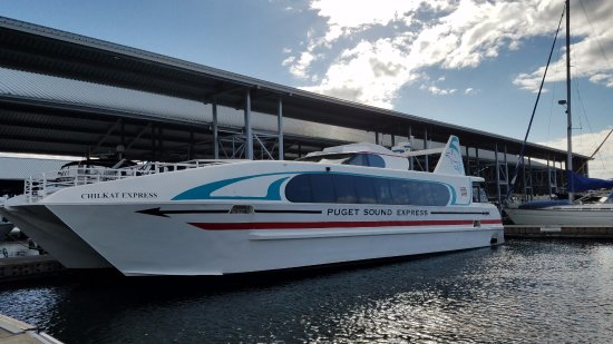 The express boat from Edmonds