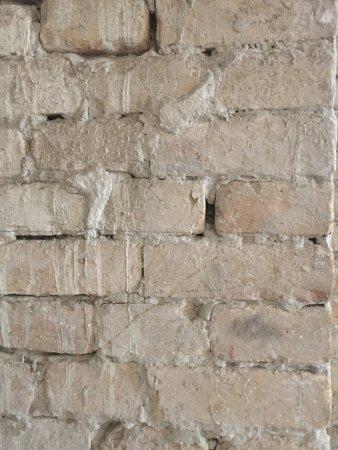 Vukovar, Croatia: Original bricks