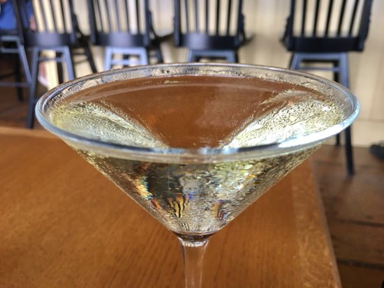 The Red Inn Restaurant: Pear Martini at The Red Inn in Provincetown, MA